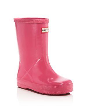 Hunter Girls' Gloss First Classic Rain Boots - Toddler