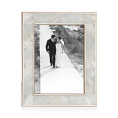 "Reed & Barton - Mother of Pearl Frame, 5"" x 7"""