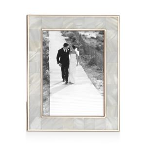 Reed & Barton Mother of Pearl Frame, 5 x 7