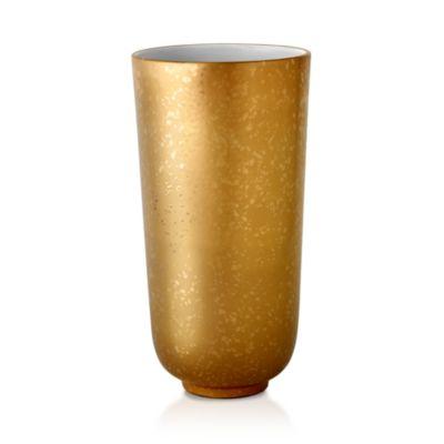 $L'Objet Alchimie Large Gold and Platinum Vase - Bloomingdale's