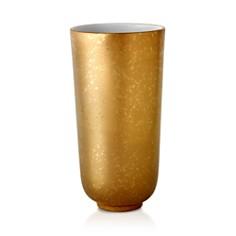 L'Objet - Alchimie Large Gold and Platinum Vase