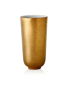 L'Objet - Alchimie Large Gold and Platinum Vase