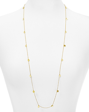 Argento Vivo Carmen Disc Station Necklace, 34
