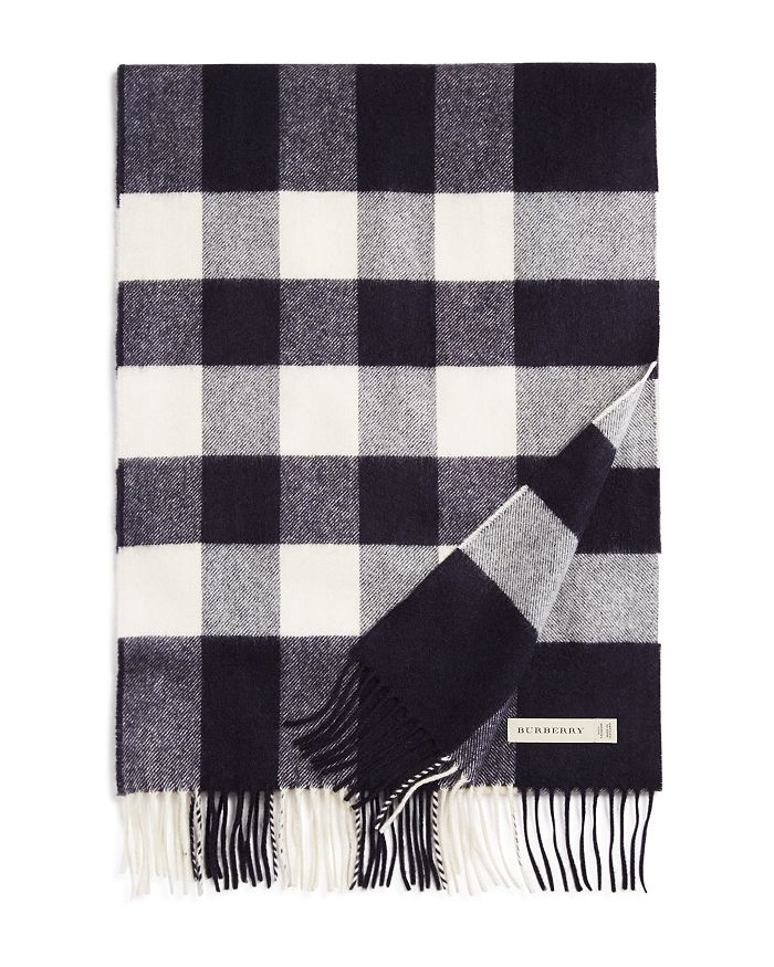 Burberry Scarves HALF MEGA CHECK SCARF