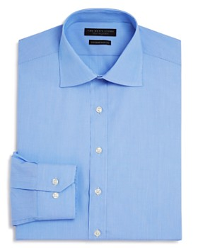The Men's Store at Bloomingdale's - Fine Line Stripe Regular Fit Basic Dress Shirt - 100% Exclusive