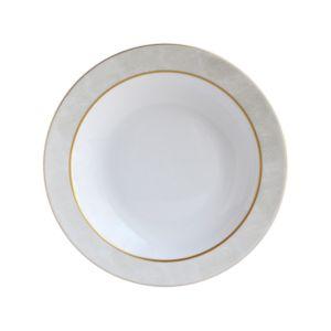Bernardaud Sauvage White Deep Round Dish
