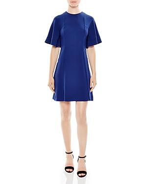 Sandro Yoko Wide-Sleeve Dress
