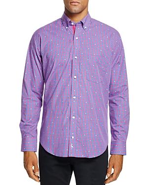 TailorByrd Memuru Gingham Classic Fit Button-Down Shirt