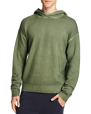 Vince Wool Cashmere Pullover Hoodie Sweater
