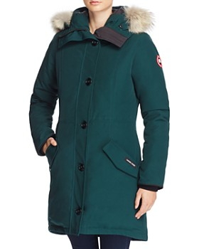 Canada Goose - Rossclair Fur Trim Down Parka ...