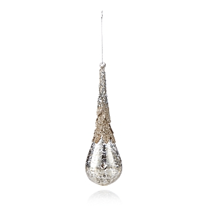 Bloomingdale's Embellished Mercury Glass Teardrop Ornament - 100% Exclusive