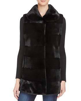 Maximilian Furs - Sheared Saga Mink Fur Vest - 100% Exclusive