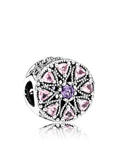 PANDORA Moments Collection Sterling Silver & Cubic Zirconia Shimmering Charm - Bloomingdale's_0