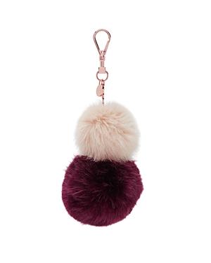 Ted Baker Renah Faux-Fur Bag Charm