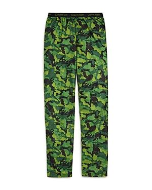 Calvin Klein Boys' Camo Print Pajama Pants - Big Kid