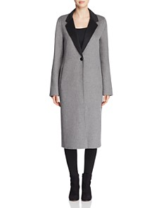 Calvin Klein - Double-Faced Longline Coat
