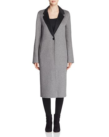 Calvin Klein - Double-Faced Longline Coat