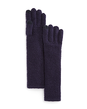 Rebecca Minkoff Garter Stitch Gloves at Bloomingdale's