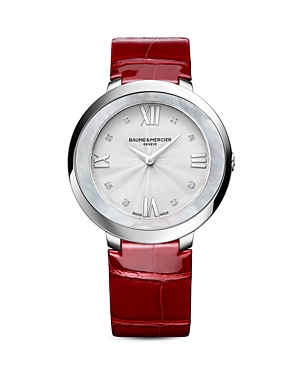 Baume & Mercier Promesse Diamond Watch, 34mm