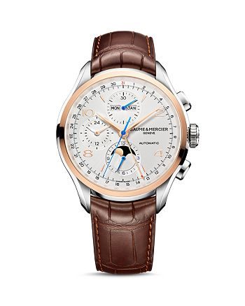 Baume & Mercier - Clifton Automatic Complete Calendar Chronograph, 43mm