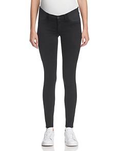 J Brand Mama J Super Skinny Maternity Jeans in Black - Bloomingdale's_0