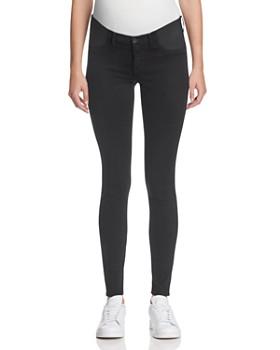 J Brand - Mama J Super Skinny Maternity Jeans in Black