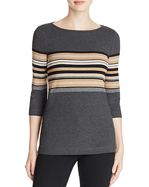 Three Dots British Stripe Sweater - 100% Exclusive