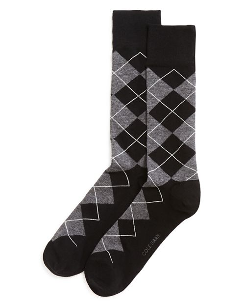Cole Haan - Classic Argyle Crew Socks