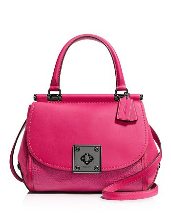 COACH - Mixed Leather Drifter Top Handle Satchel 688f04aa58215