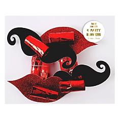 Meri Meri Mustache & Lips Party Blowers, Set of 4 - Bloomingdale's_0