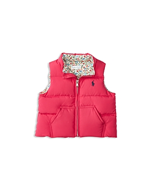 Ralph Lauren Childrenswear Infant Girls' Down Puffer Vest - Sizes 6-24 Months