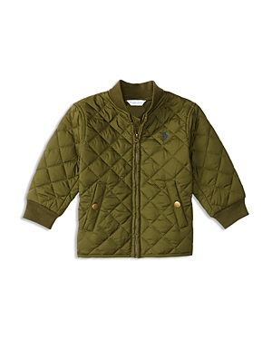 Ralph Lauren Childrenswear Infant Boys' Diamond Quilted Jacket - Sizes 3-24 Months