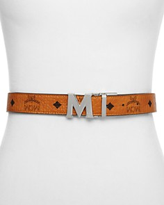 MCM Color Visetos Reversible Belt - Bloomingdale's_0