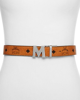 MCM - Women's Color Visetos Reversible Belt