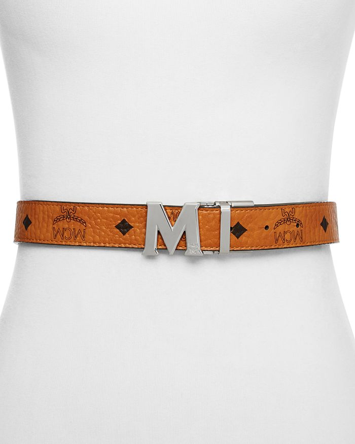 MCM - Women's Color Visetos Reversible Belt