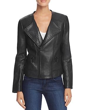 Joie Zippora Leather Moto Jacket