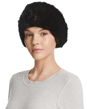 Surell - Rabbit Fur Headband Scarf