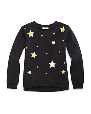 kate spade new york Girls' Star Sweatshirt - Little Kid