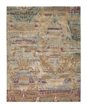 Nourison Dune Rug - Oversized Ikat Pattern, 5'6 x 8'