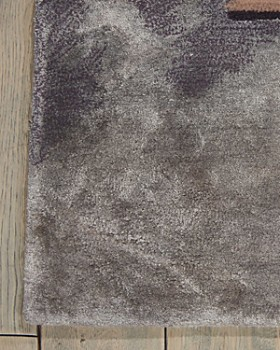 Nourison - Prismatic Area Rug Collection - Abstract Beige/Silver