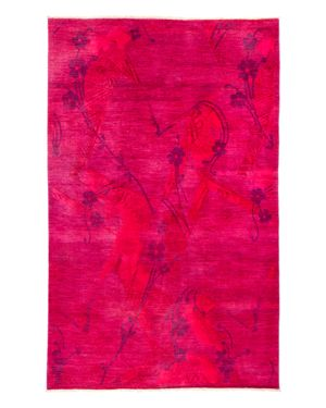 Solo Rugs Vibrance Overdyed Area Rug, 6'1 x 9'6