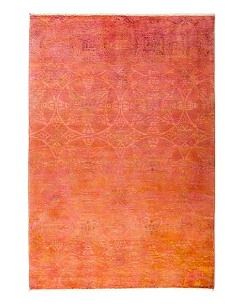 "Solo Rugs - Vibrance Overdyed Area Rug, 6'3"" x 9'1"""