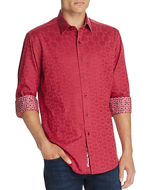 Robert Graham Cullen Classic Fit Button-Down Shirt