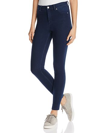 Cheap Monday - High Rise Spray Skinny Jeans in Solid Blue