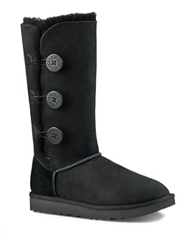 UGG® - Women's Bailey Button Triplet Sheepskin Mid Calf Boots ...
