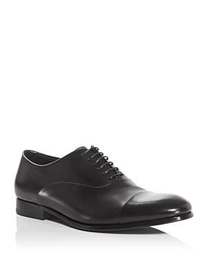 Armani Cap Toe Oxfords