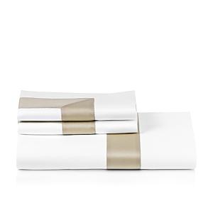 Frette Bicolore Sheet Set, Queen