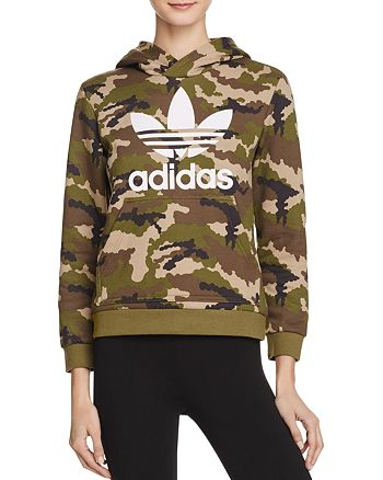 separation shoes 45042 053c2 adidas Originals - Camo Hoodie Sweatshirt