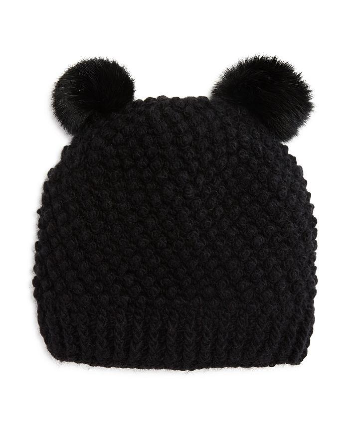 2104af3cf30 Surell - Girls  Double Pom Hat