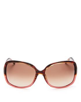 MARC JACOBS - Women's Color Block Square Sunglasses, 58mm